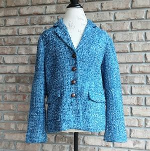 J.McLaughlin classic tweed blazer.